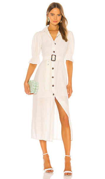 C/MEO Early On Dress in White