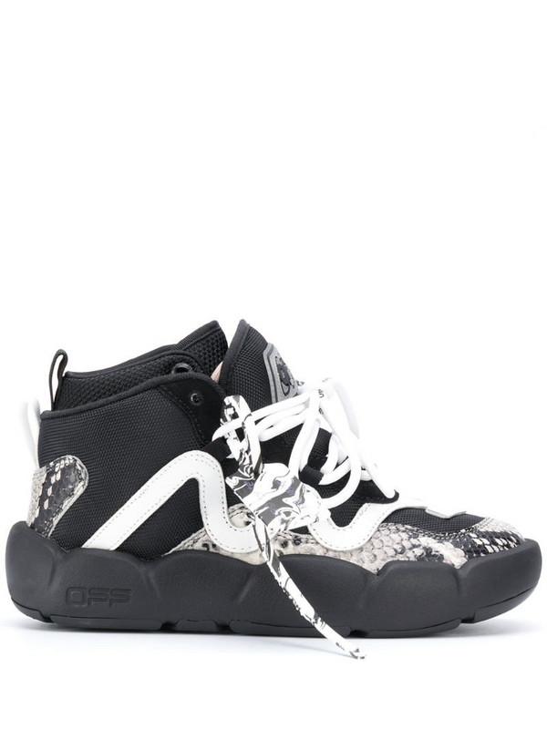 Off-White Chlorine boot sneakers in black