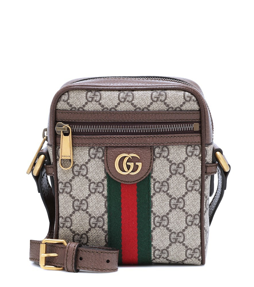 Gucci Ophidia GG Supreme crossbody bag in beige