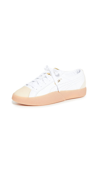 PUMA Love Grand Slam Sneakers in white