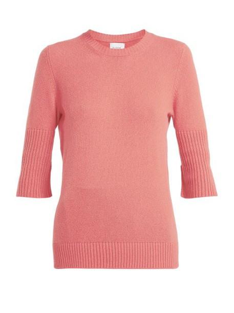 Barrie - Arran Cashmere Sweater - Womens - Pink