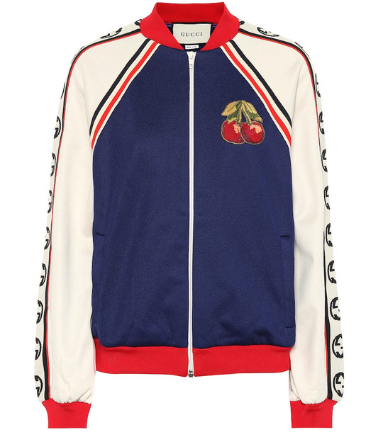 Gucci Cotton blend track jacket