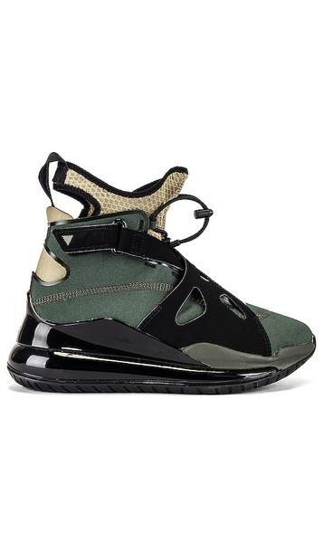 Jordan Air Latitude 720 Sneaker in Black,Olive