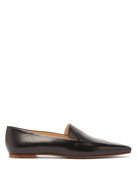 The Row - Minimal Leather Loafers - Womens - Black