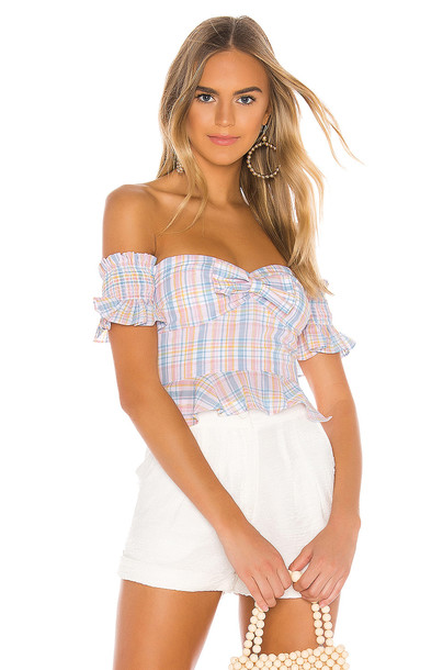 MAJORELLE Olympia Top in white