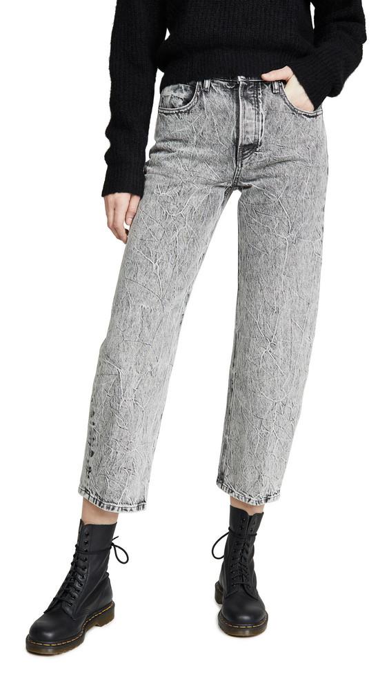 Denim x Alexander Wang Curb Jeans in grey