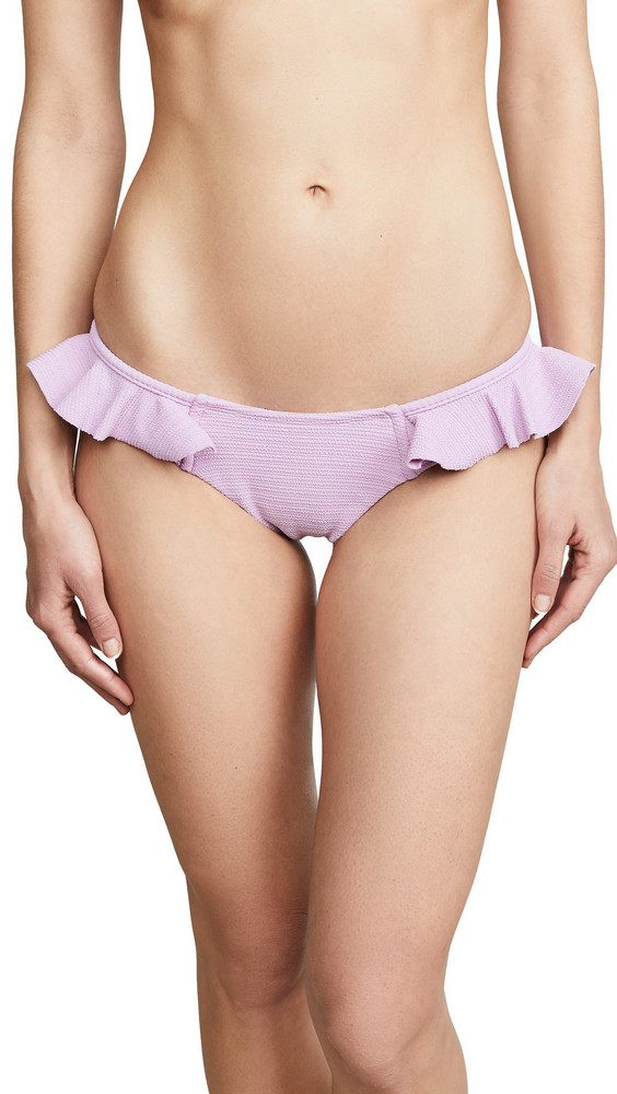 Montce AC Ruffle Uno Bikini Bottoms in lilac
