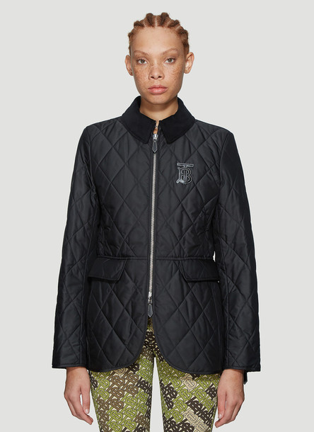 Burberry Ongar Quilted Jacket in Black size XS