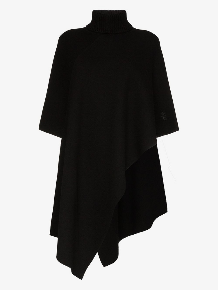Chloé Chloé CHLOE CASH PONCHO in black