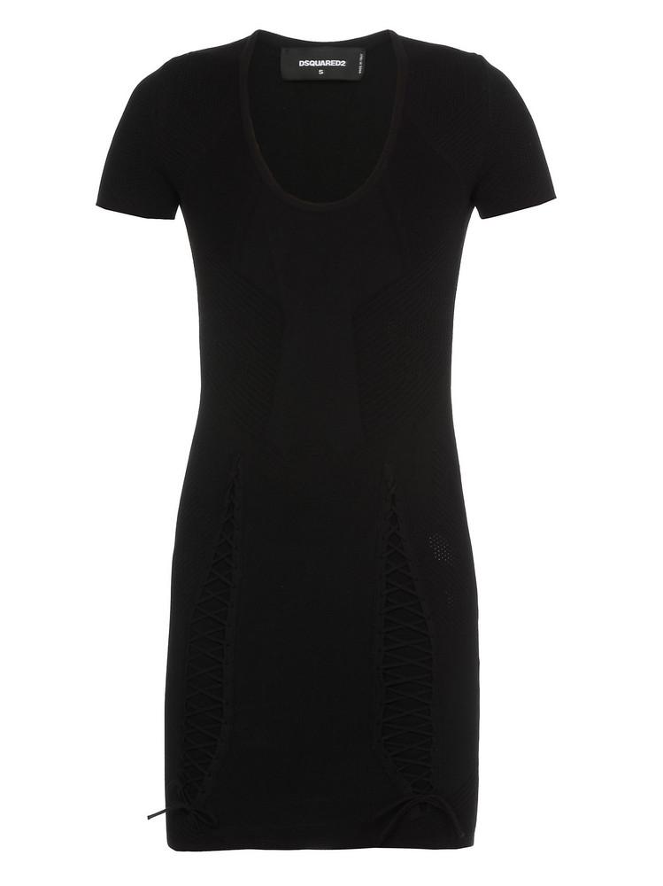 Dsquared2 Stretch Pencil Dress in black