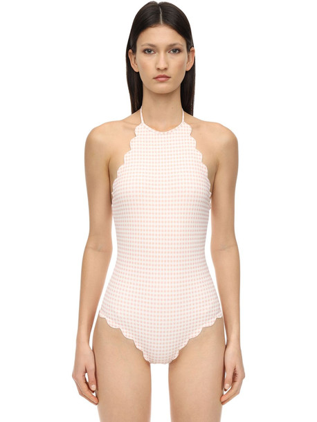 MARYSIA Mott Maillot One Piece Swimsuit in pink