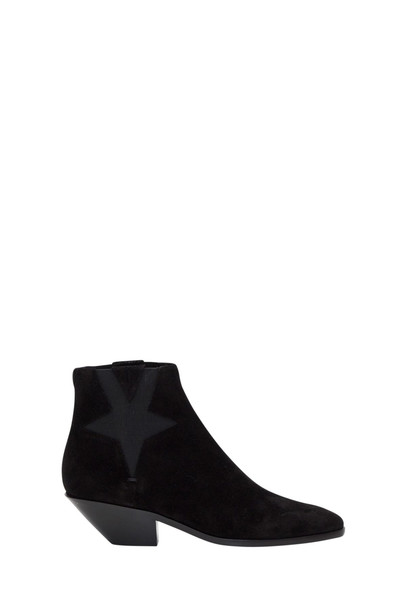 Saint Laurent West Star Chelsea Boots in nero