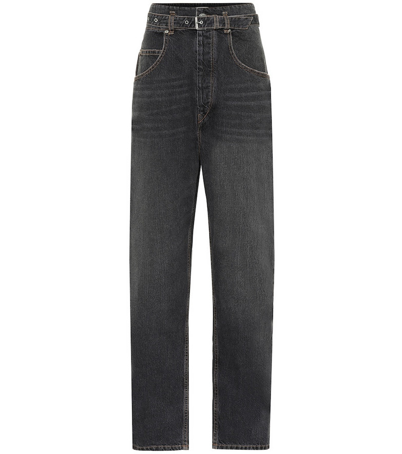 Isabel Marant, Étoile Gloria high-rise carrot jeans in black
