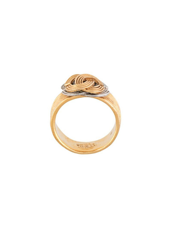 Chanel Pre-Owned 2000 CC ring in gold