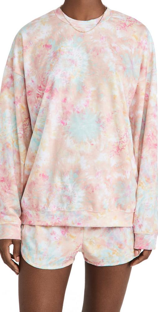 Onzie Boyfriend Sweatshirt in rose