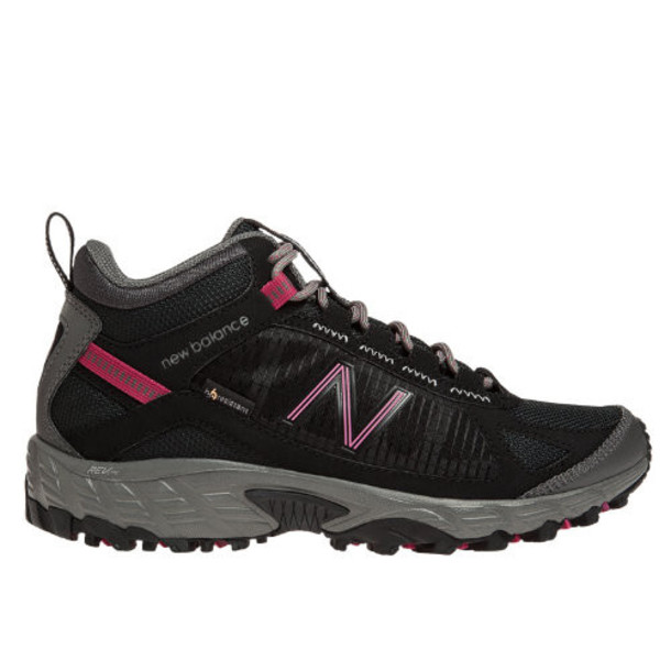 New Balance 790 Women's Trail Walking Shoes - Black, Pink Glo, Light Grey (WO790HBP)
