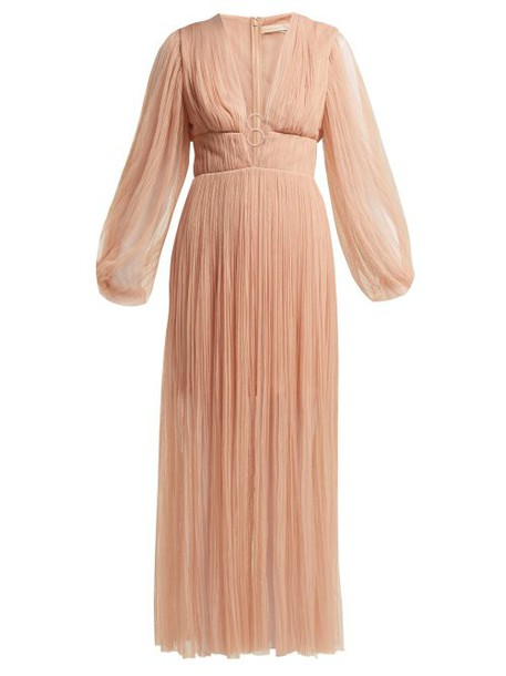 Maria Lucia Hohan - Astoria Tulle Dress - Womens - Nude