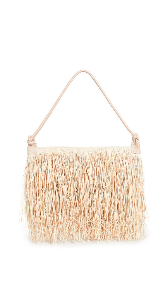 Nannacay Baguette Maya Bag in natural