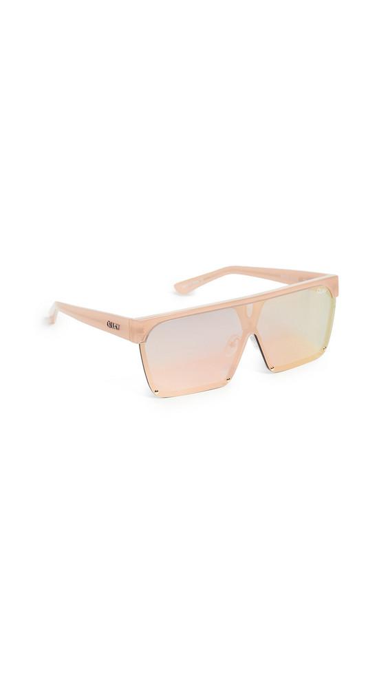Quay Shade Queen Sunglasses in peach
