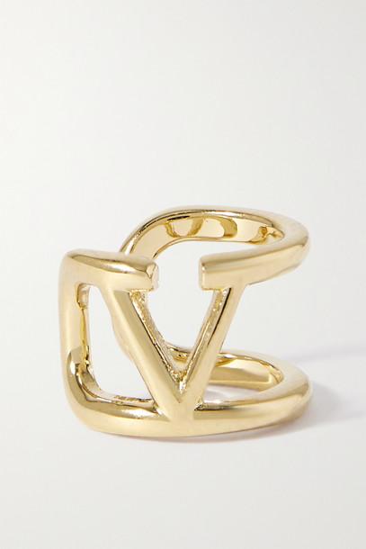 Valentino - Valentino Garavani Gold-tone Single Ear Cuff - one size