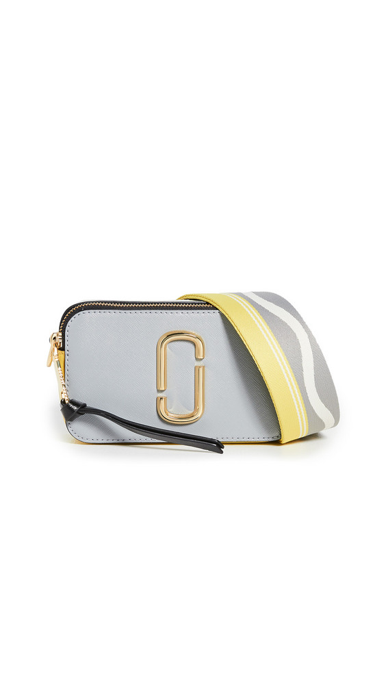 The Marc Jacobs Snapshot Camera Bag in grey / multi
