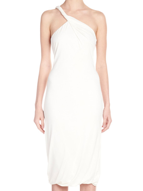 Tom Ford 'cut & sewn' Dress in white