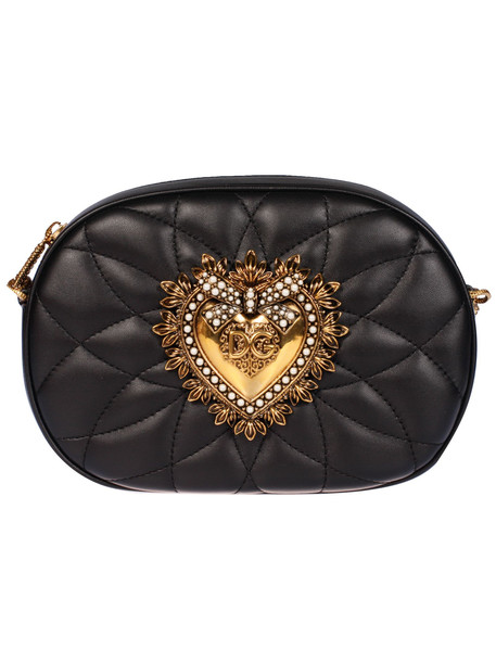 Dolce & Gabbana Chained Shoulder Bag in nero