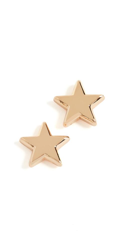 Lele Sadoughi Ashford Star Stud Earrings in gold