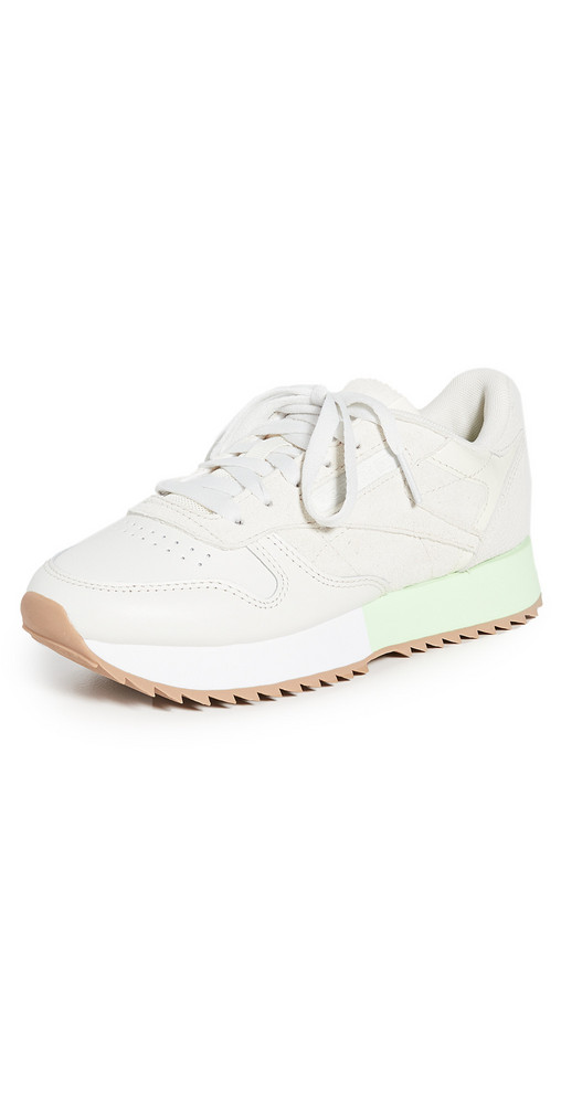 Reebok Classic Leather Ripple Sneakers in white