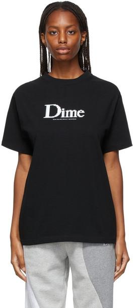 Dime Classic Screenshot T-Shirt in black