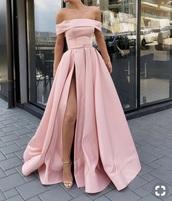 dress,pink,prom dress,prom,long