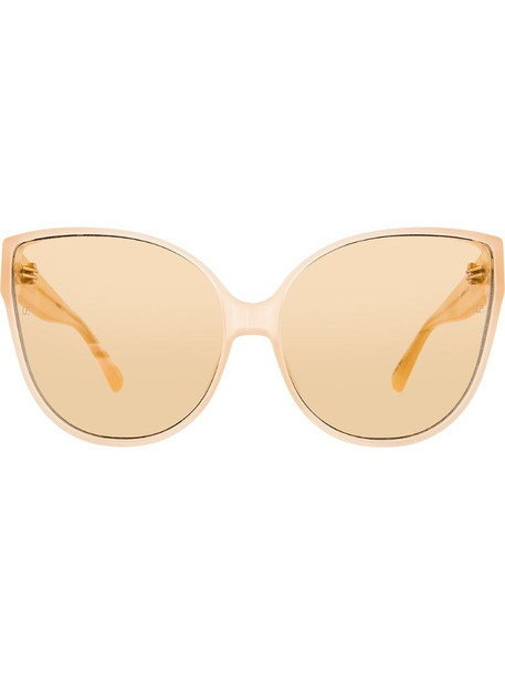 Linda Farrow 656 C4 cat-eye sunglasses in pink