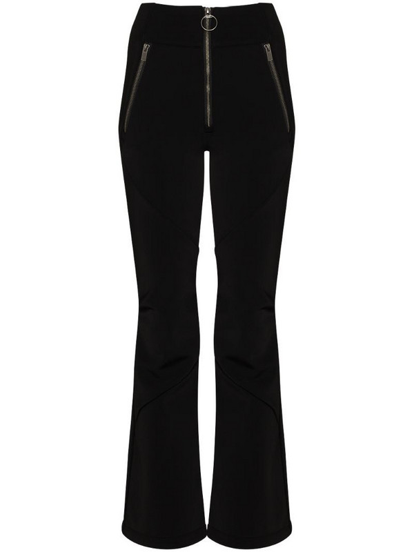 Holden high waist shell trousers in black