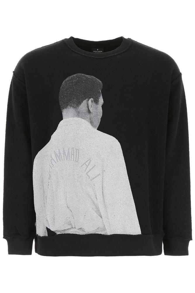 Marcelo Burlon Muhammad Ali Sweatshirt in black / multi