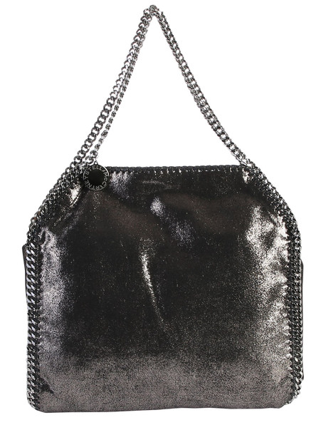 Stella McCartney Black Falabella Double Chain Bag