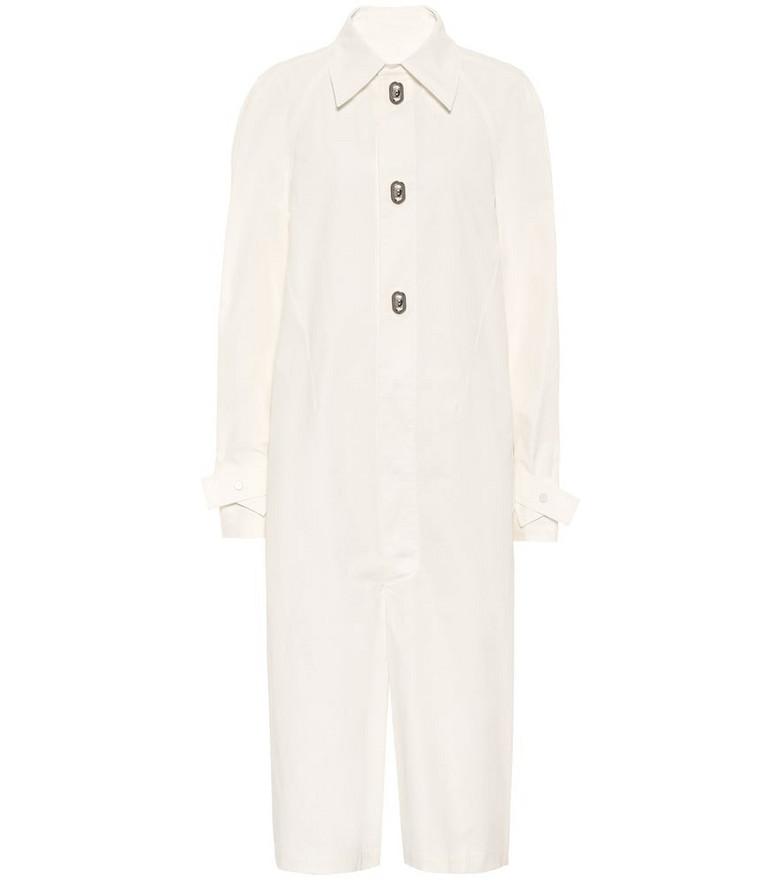 Bottega Veneta Cotton jumpsuit in white