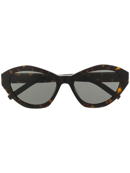 Saint Laurent Eyewear SL M60 sunglasses in brown