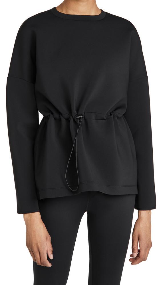 Sweaty Betty Grace Crew Neck Sweatshirt in black