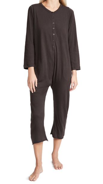 THE GREAT. THE GREAT. Sleeper Jumpsuit in black