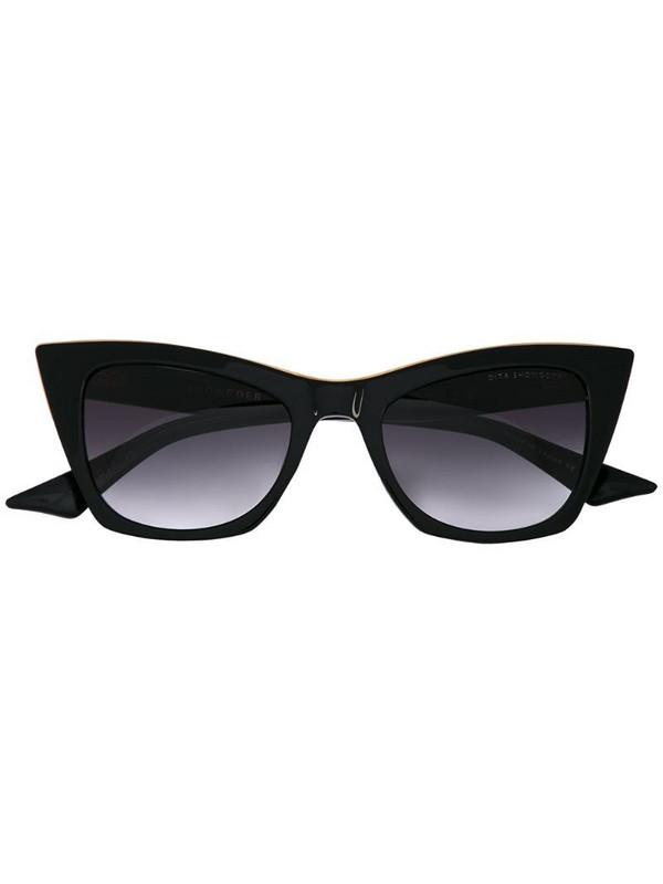 Dita Eyewear cat-eye sunglasses in black