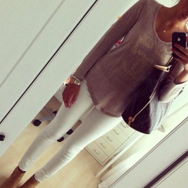 shirt brown gold