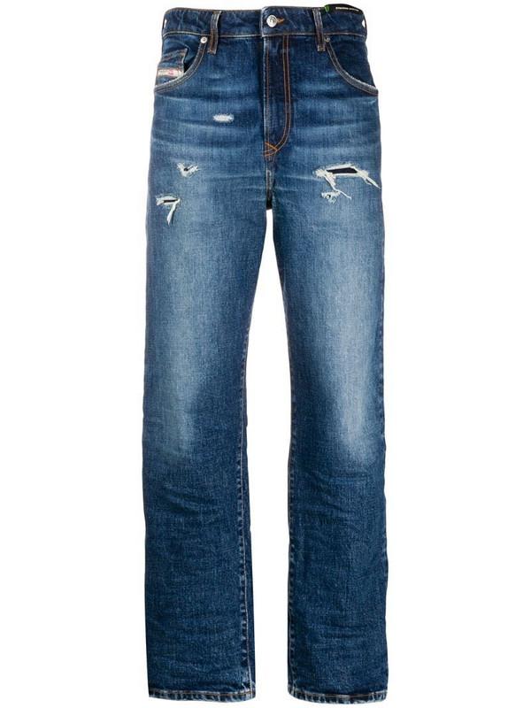 Diesel straight-leg jeans in blue