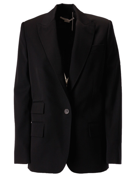 Stella McCartney Single Breasted Blazer in black