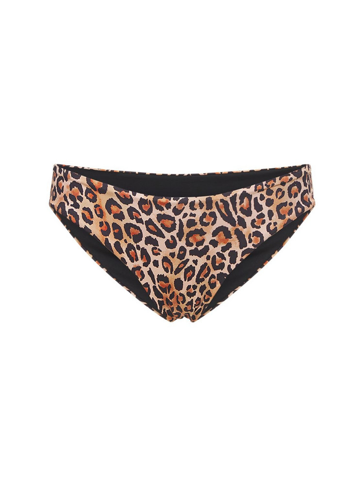 ARABELLA LONDON The Seamless Low Rise Briefs in leopard