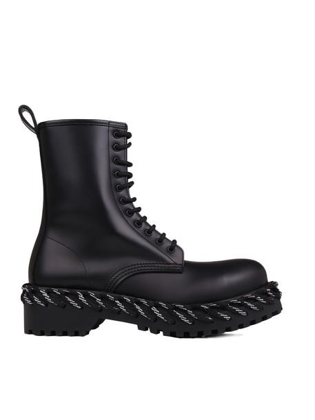 Balenciaga Boots in noir