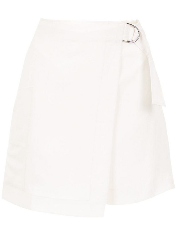 Mara Mac linen skirt in white