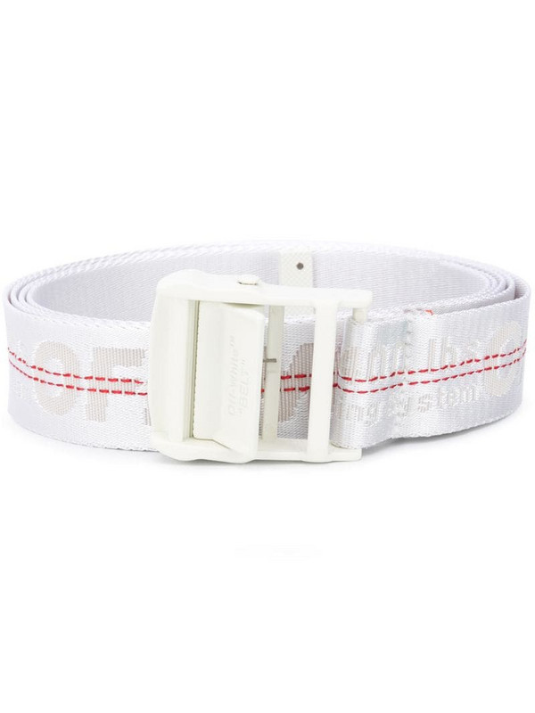 Off-White Classic Industrial buckle belt in white