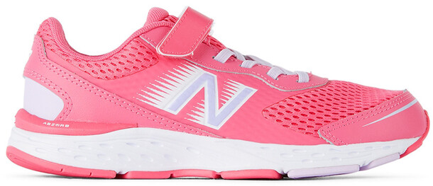 New Balance Kids Pink 680v6 Sneakers