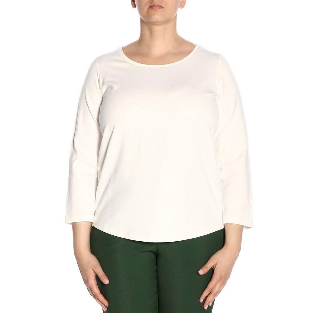 Marina Rinaldi T-shirt T-shirt Women Marina Rinaldi in white