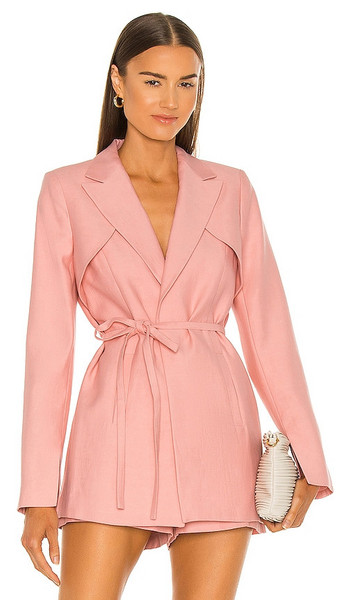 Alexis Filipa Blazer in Pink in rose